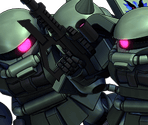 Zaku II (Midnight Fenrir)*2