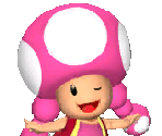 Toadette Icons: Solo Mode Menu