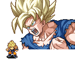 Goku (Super Saiyan w/ Damage)