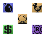 Weapon, Gadget, and Item Icons