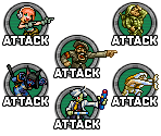 Custom Attack Buttons
