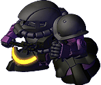 High Mobility Space Test Type Zaku