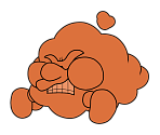 Huff 'n' Puff (Paper Mario-Style, 2 / 2)