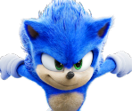 Sonic Movie Event Graphics