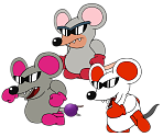 Mouser (Paper Mario-Style)