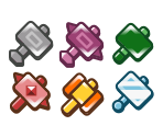 Custom Hammer Badges (TTYD)