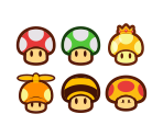 Mushrooms & Power-Ups