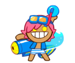 Gumball Cookie (Water Bazooka)