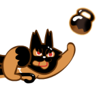 Muscle Cookie (Wolf Mask)
