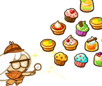 Cream Puff Cookie (Almost Great Detective)