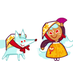 Kumiho Cookie (Holiday Hanbok)