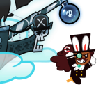 Pirate Cookie (Bunny Hat)
