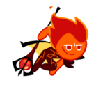 Fire Spirit Cookie
