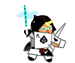 Knight Cookie (Knight of Spades)