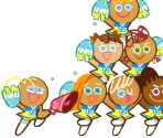 Cheerleader Cookie