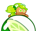 Lime Cookie (Mermaid)