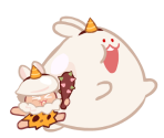 Moon Rabbit Cookie (Mighty Club)