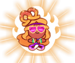Yoga Cookie (Peace and Love)