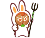 Carrot Cookie (Bouncy Bunny)