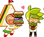 Sandwich Cookie (Cheery Mascot)