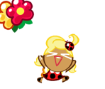 Apple Cookie (Spring Ladybug)