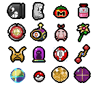 Items and Characters (The Binding of Isaac-Style)