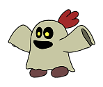 Duplighost (Paper Mario-Style)