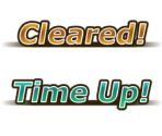 Cleared / Time Up Text