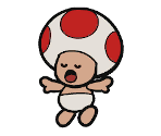 Shirtless Toad