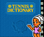 Emily & Tennis Dictionary