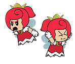 Red Sprixie Princess (Paper Mario-Style)