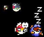 Cheep Cheep, Blurp, and Rip Van Fish