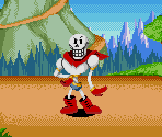 Papyrus (Dr. Robotnik's Mean Bean Machine-Style)