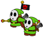 Sergeant Guy (Paper Mario-Style, Modern)