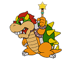 Bowser (Paper Mario 64) (Paper Mario-Style, 1 / 2)