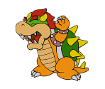 Bowser (Paper Mario 64) (Paper Mario-Style, 2 / 2)