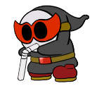 Shy Bandit (Paper Mario-Style, Classic)