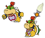 Bowser Jr (Paper Mario-Style, Modern)