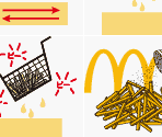 French Fry Tutorial Images