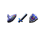 Item Icons (Spaceworld '97 Prototype)
