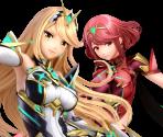 Pyra / Mythra (4 / 4, Mythra First)