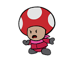 Rescue V Red (Paper Mario-Style)