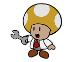 Chief Research Toad (Paper Mario-Style)