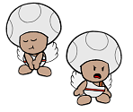 Shangri-Spa Toad (Paper Mario-Style)
