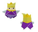 King Olly (2D) (Paper Mario-Style)