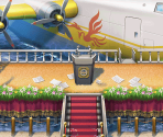 Gourd Lake Stage and President's Plane