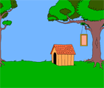 Doghouse Background and Buttons