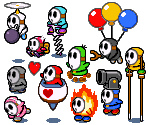 Shy Guy (Mario & Luigi: Superstar Saga-Style)