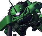 Zaku II High Mobility Commander Type