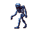 Blue Skeleton